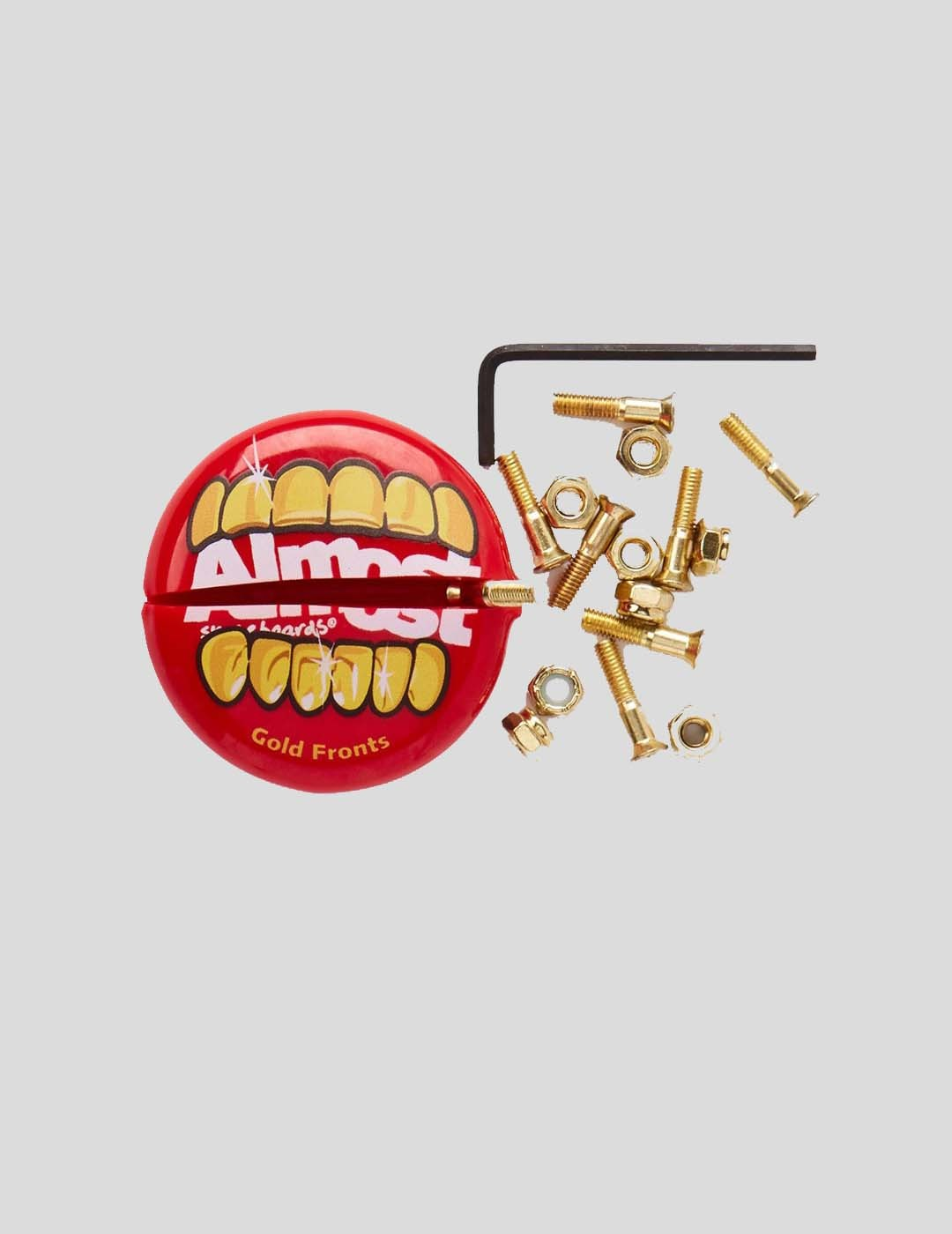"""TORNILLOS ALMOST GOLD NUTS & BOLTS ALLEN 1"""" 123312"""