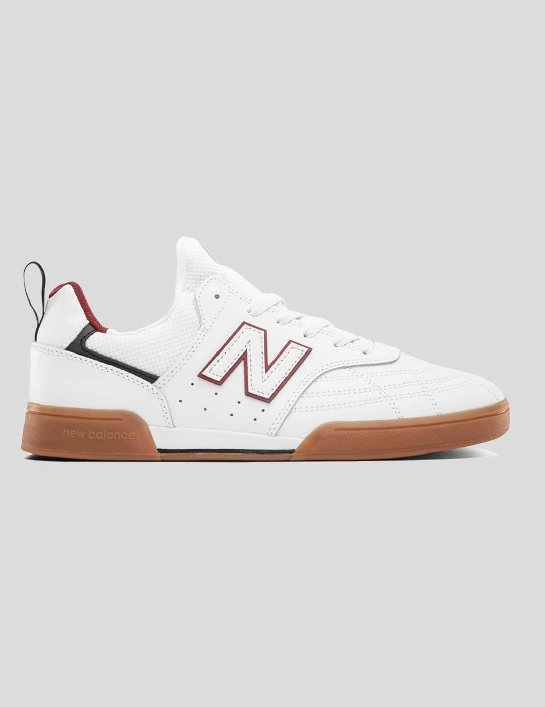 ZAPATILLAS NEW BALANCE NUMERIC 288 SWL WHITE RED