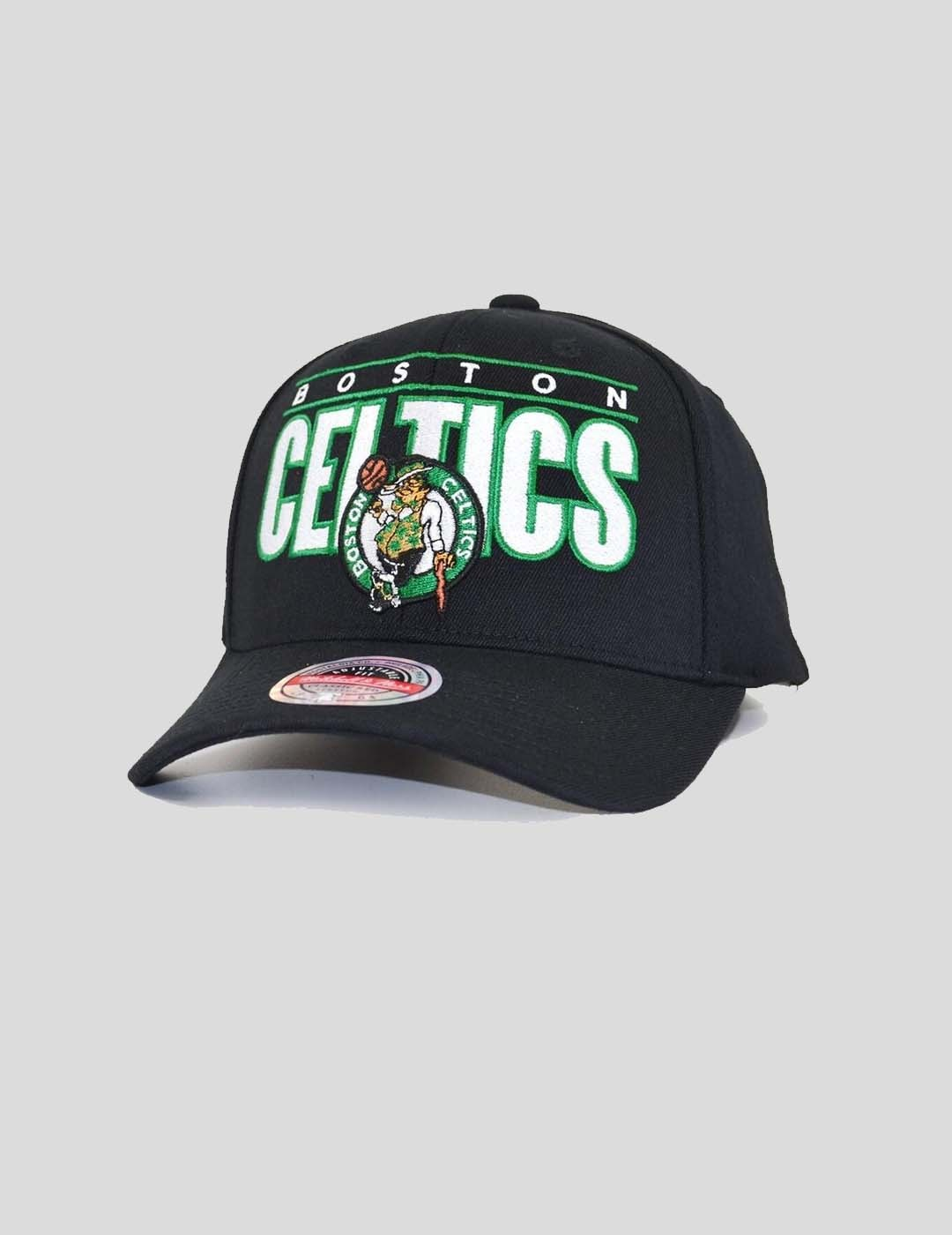 GORRA MITCHELL & NESS NBA BILLBOARD REDLINE BOSTON CELTICS BLACK
