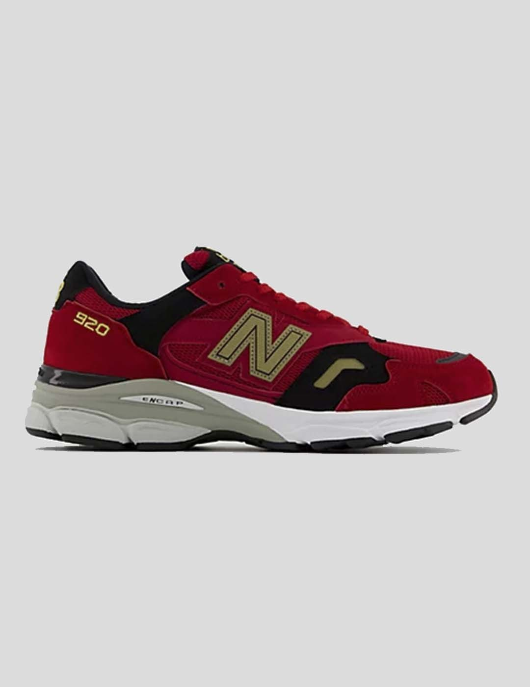 """ZAPATILLAS NEW BALANCE 920 """"MADE IN UK"""" RED / BLACK"""