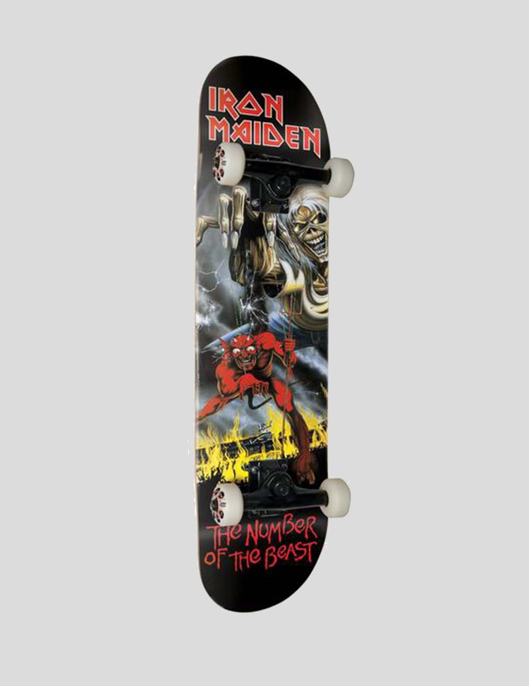 """SKATE COMPLETO ZERO NUMBER OF THE BEAST 8"""""""