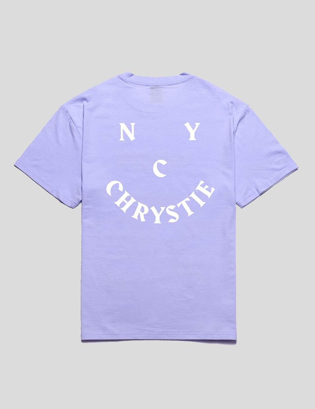 CAMISETA CHRYSTIE NYC SMILE LOGO TEE SWEET LAVENDER