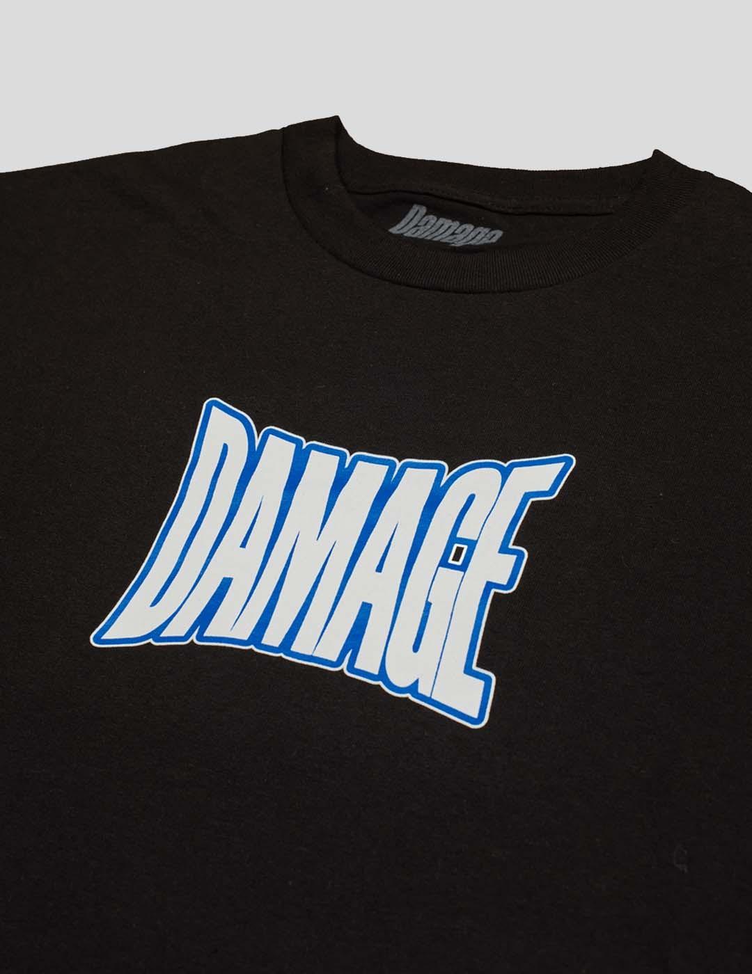 CAMISETA DAMAGE SELLABLE TEE BLACK
