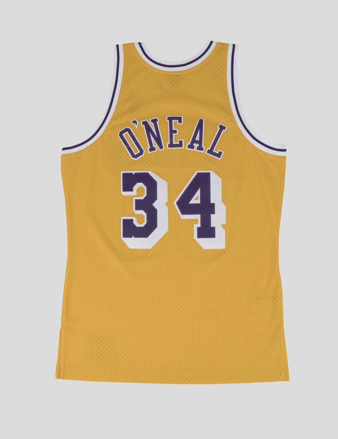 CAMISETA MITCHELL & NESS LAKERS SHAQUILLE O´NEAL 96-97 SWINGMAN GOLD