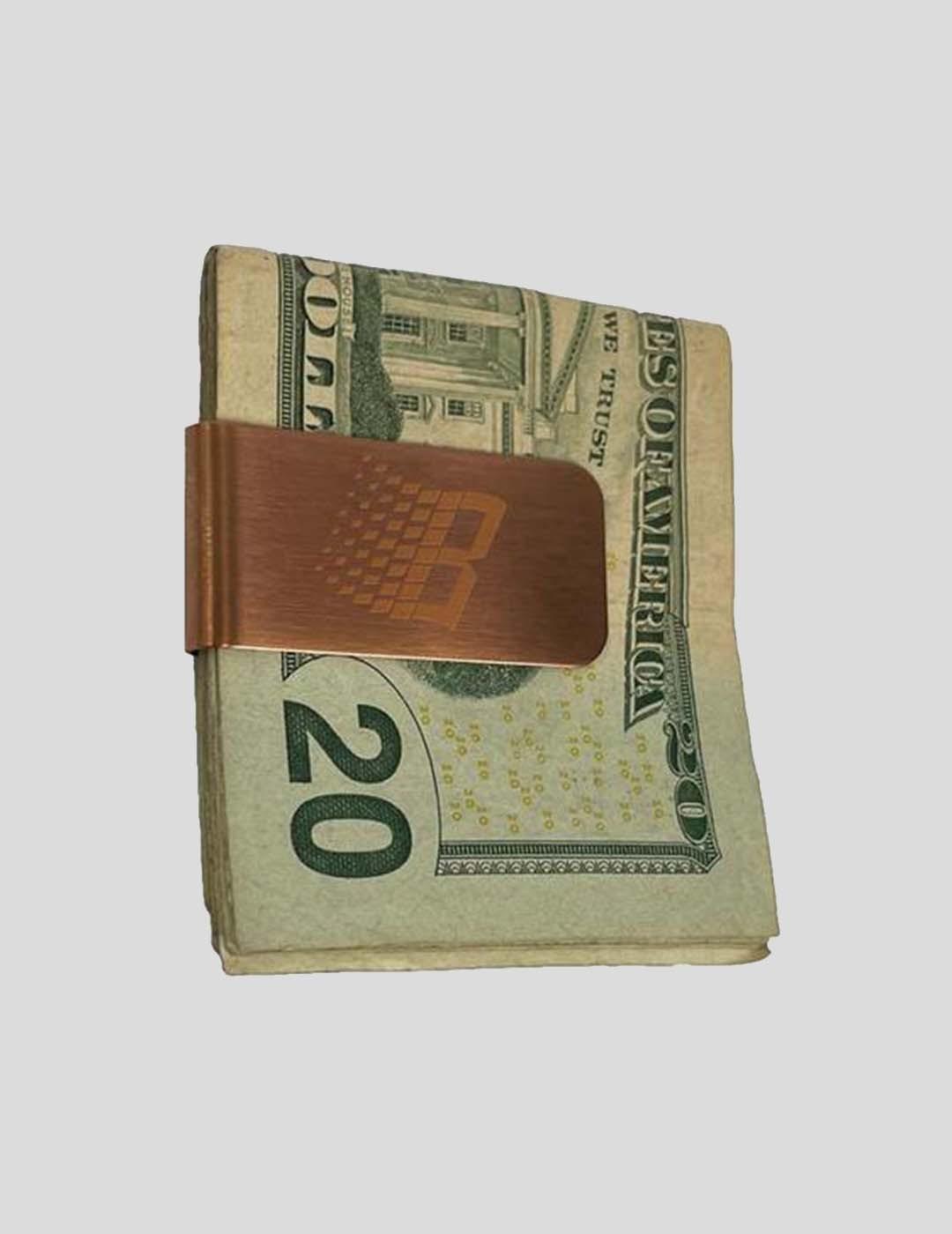 ACCESORIOS BRONZE 56K MONEY CLIP BRONZE