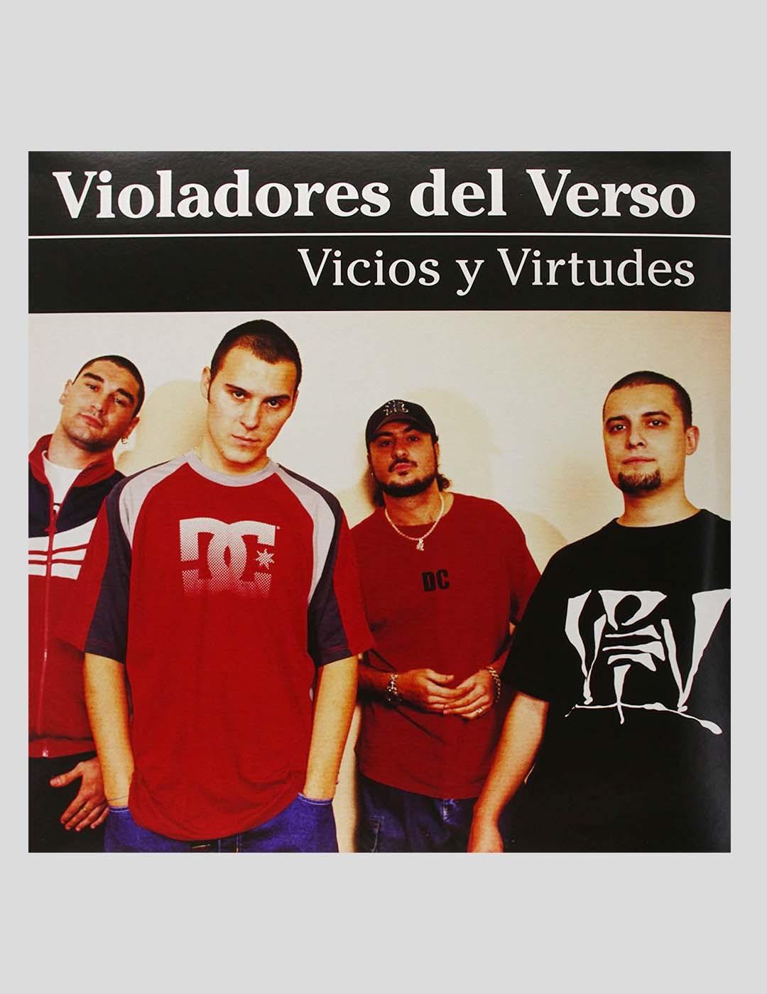 VINILO VIOLADORES DEL VERSO - VICIOS Y VIRTUDES 2 LPS VINYL