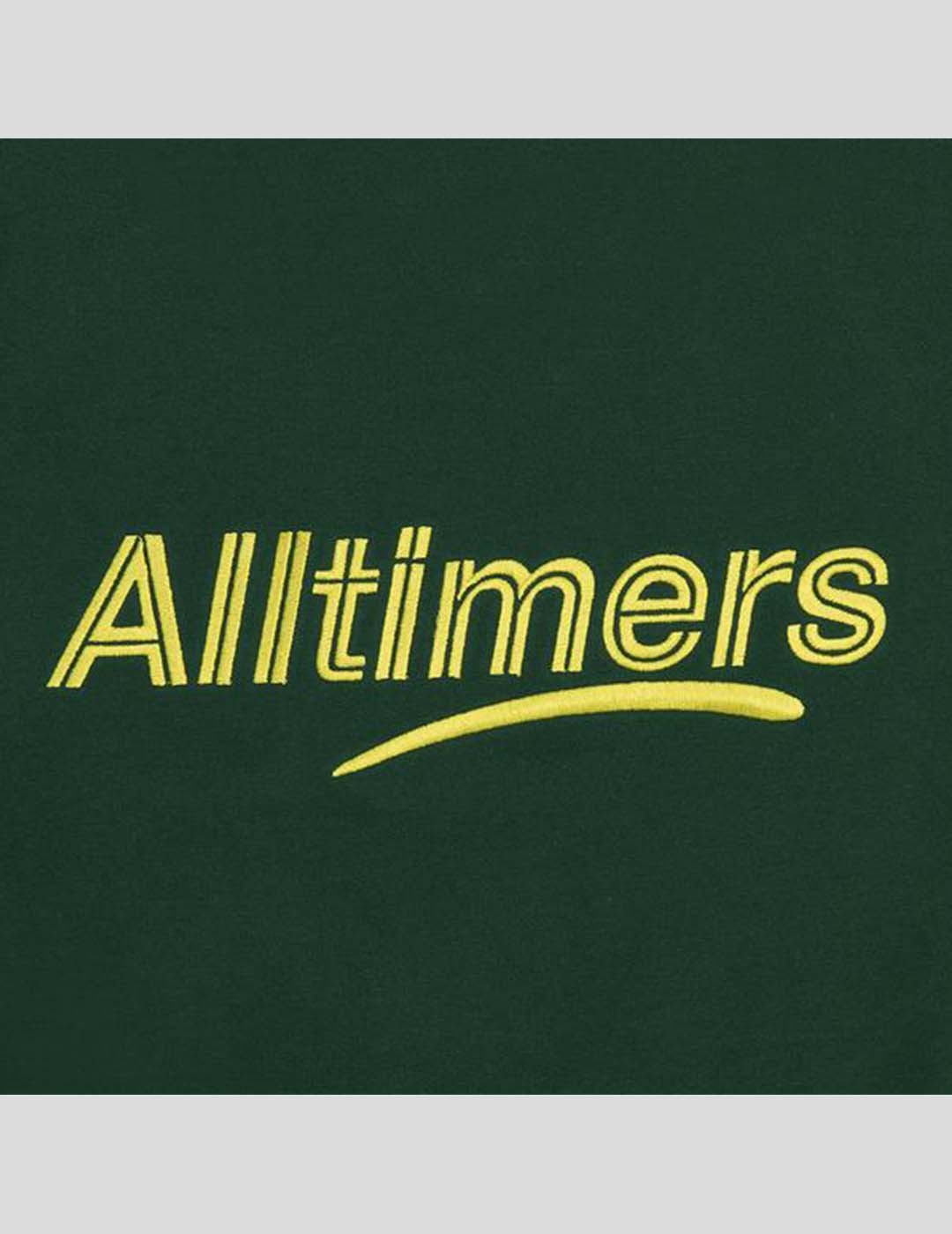 SUDADERA ALLTIMERS EMBROIDERED STATE CREW DRAK GREEN