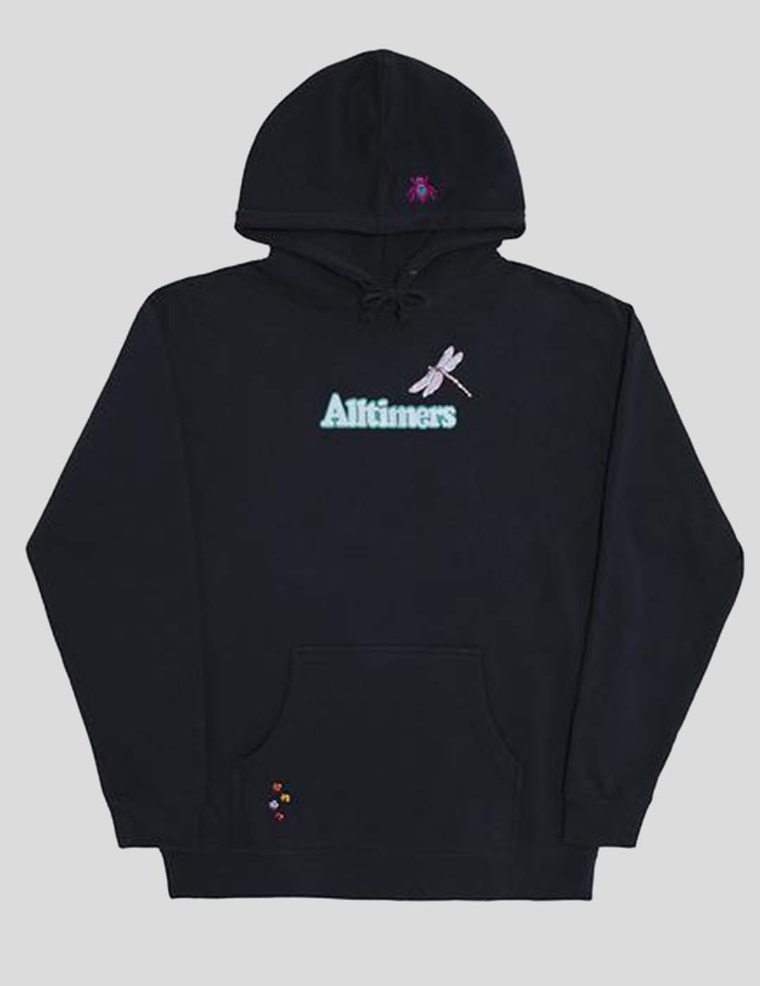 SUDADERA ALLTIMERS EMBROIDERED BUGGED OUT BROADWAY HOODIE NAVY