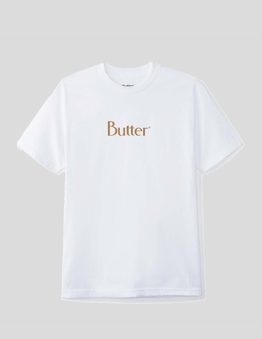 CAMISETA BUTTER GOODS CLASSIC LOGO TEE WHITE