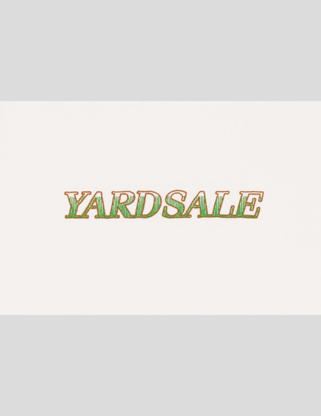 CAMISETA YARDSALE LOW RIDER TEE WHITE GREEN