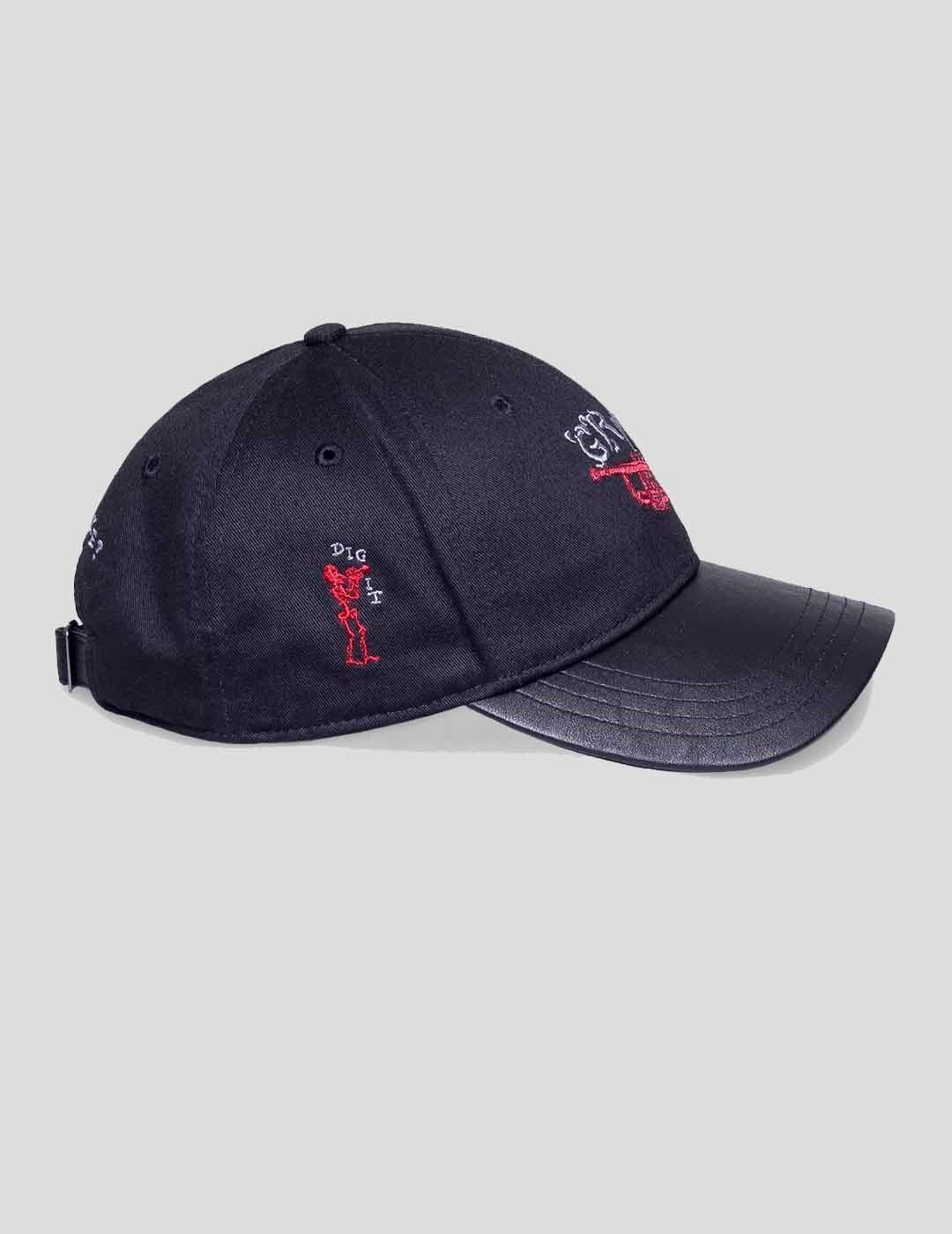 GORRA GRIMEY JAZZ THING CURVED VISOR CAP BLACK