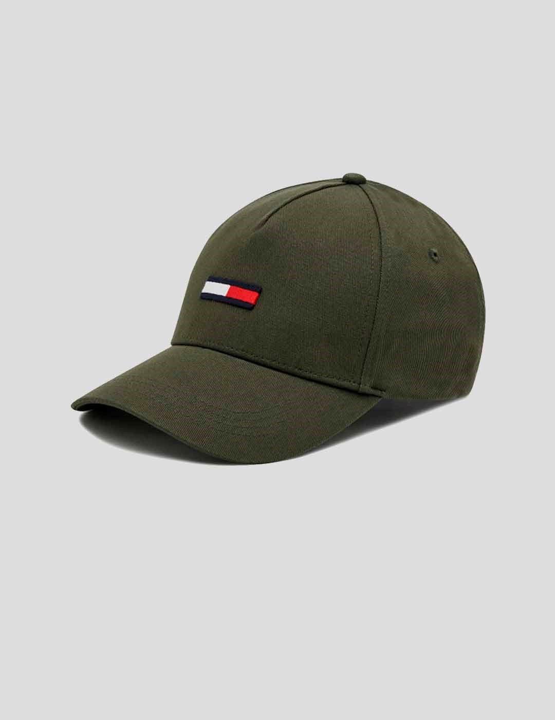 GORRA TOMMY JEANS TJM FLAG CAP GREEN