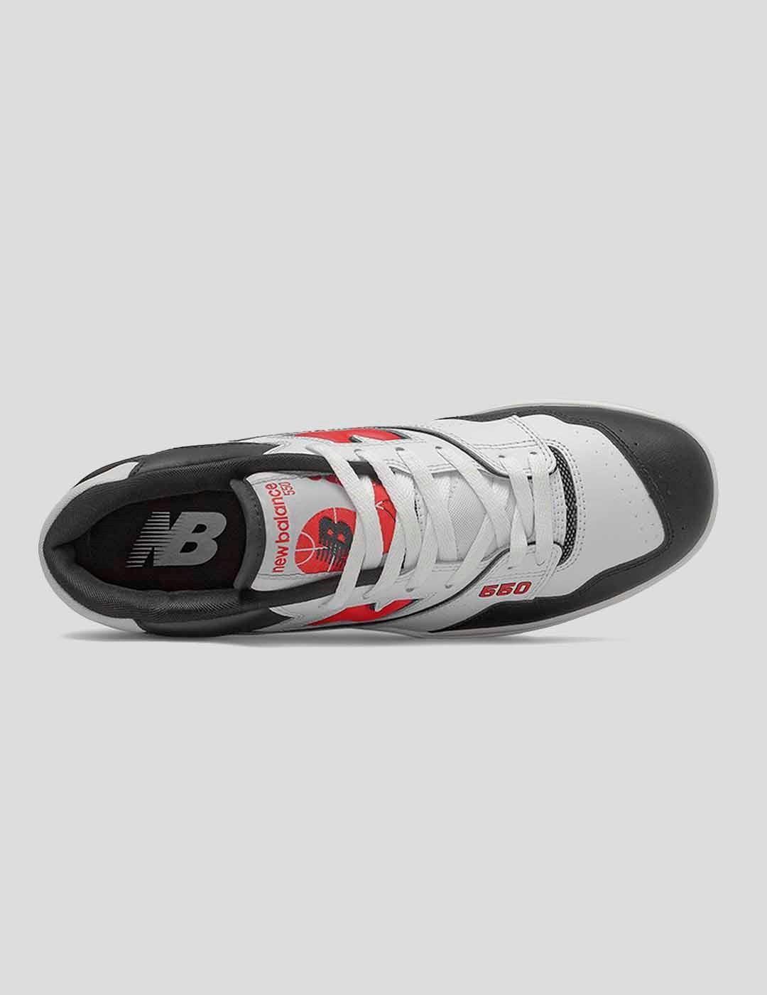 ZAPATILLAS NEW BALANCE 550 HR1 SPORT RED BLACK WHITE