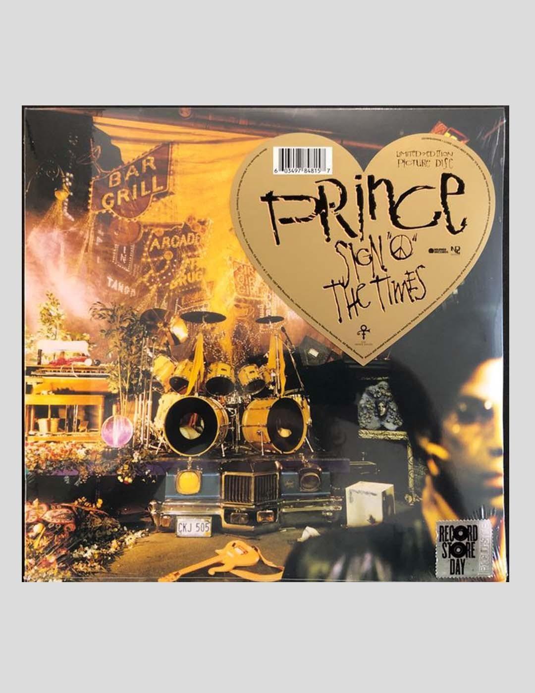 VINILO PRINCE - SIGN O´THE TIMES PICTURE DISC LP VINYL