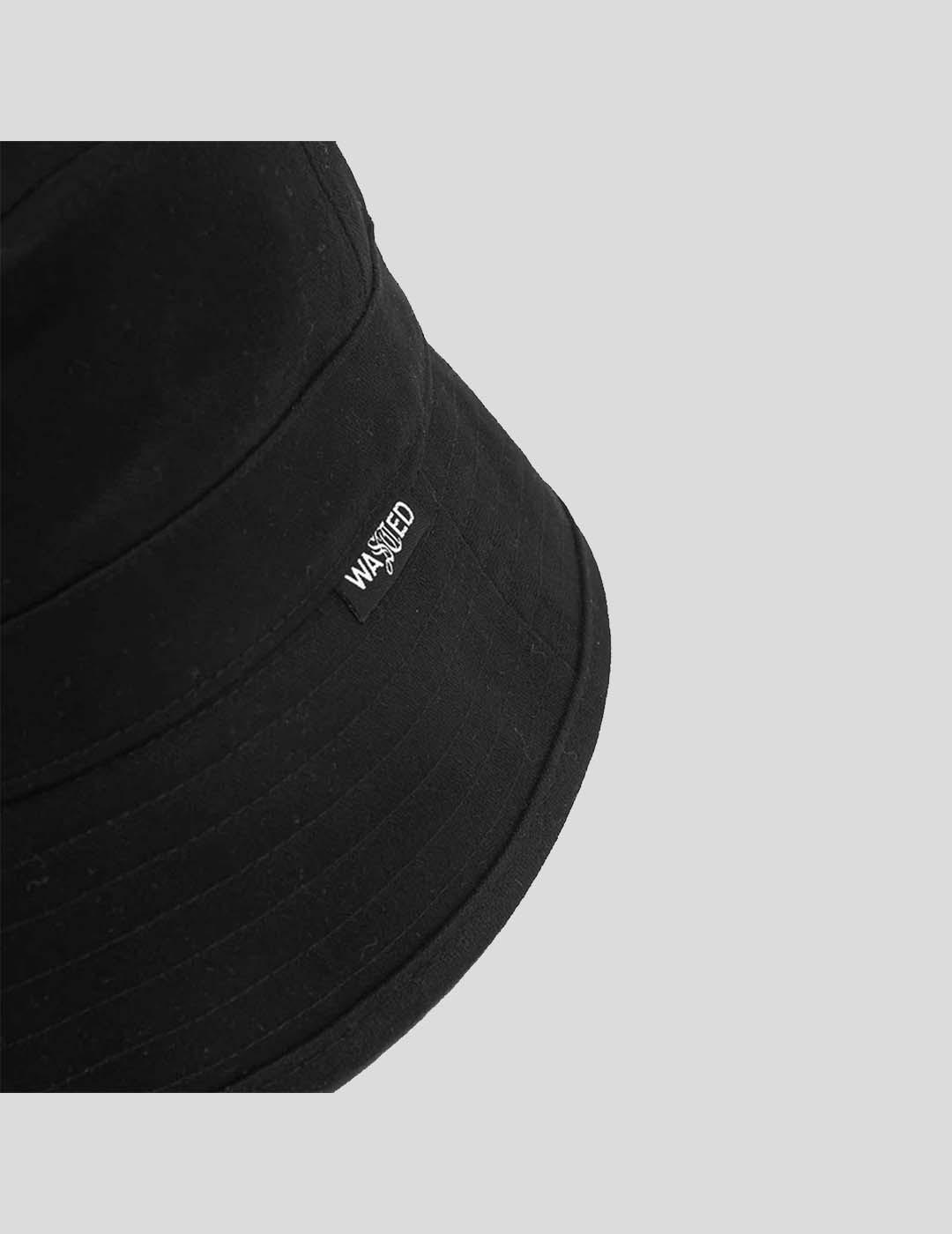 GORRA WASTED PARIS BUCKET HAT BLACK