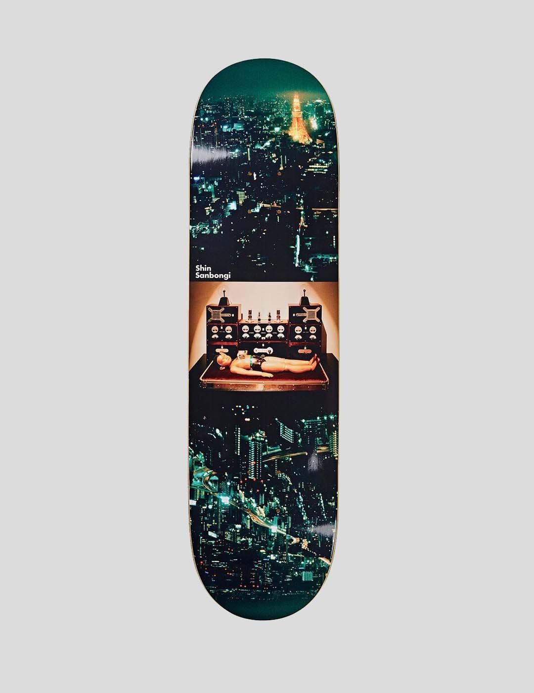 TABLA POLAR SKATE CO SHIN SANBONGI - ASTRO BOY 8.0 DECK