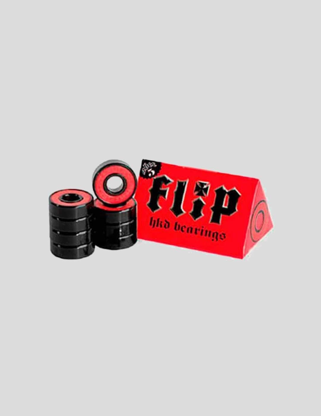RODAMIENTOS FLIP ABEC 5 HKD BEARINGS BLACK