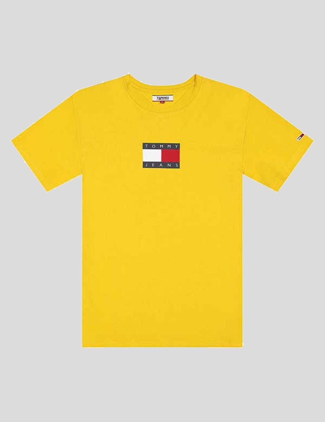 CAMISETA TOMMY JEANS SMALL FLAG TEE STAR FRUIT YELLOW