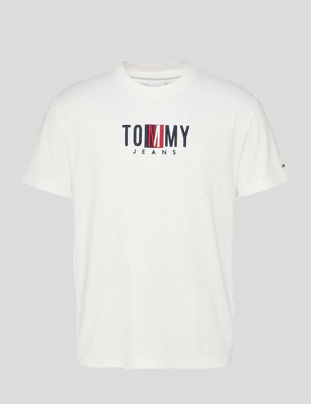 CAMISETA TOMMY JEANS TIMELESS TOMMY BOX TEE WHITE