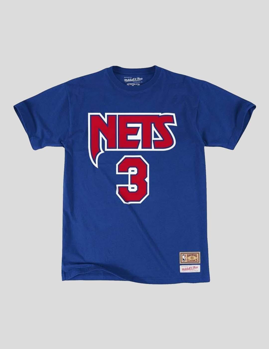 CAMISETA MITCHELL & NESS NBA NJ NETS - DRAZEN PETROVIC TEE ROYAL