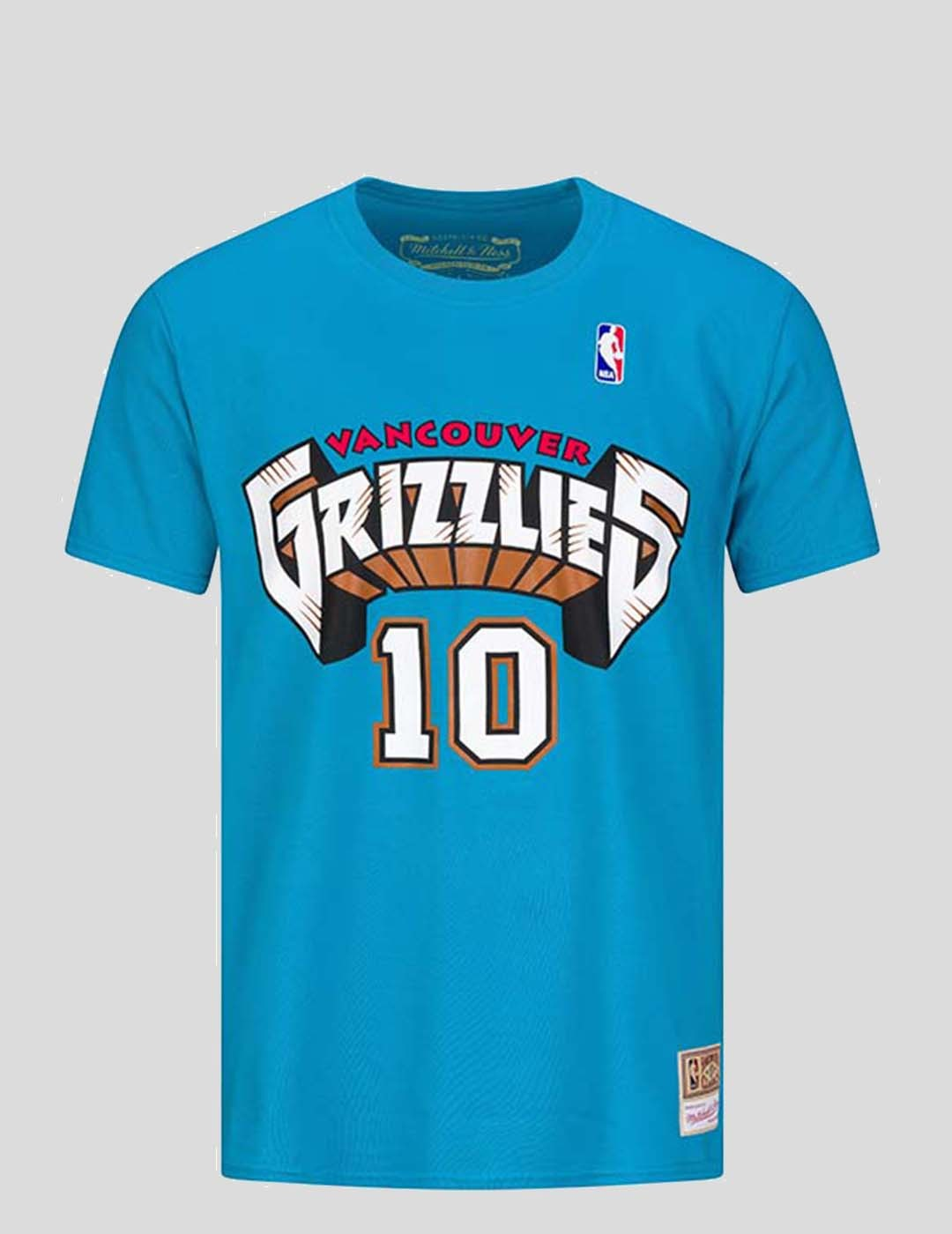 CAMISETA MITCHELL & NESS V GRIZZLIES - MIKE BIBBY TEE TEAL