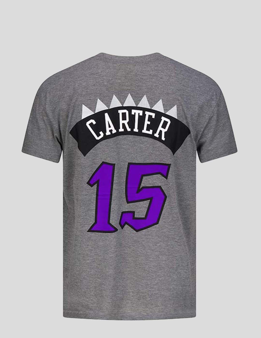 CAMISETA MITCHELL & NESS NBA T RAPTORS - VINCE CARTER TEE HEATHER GREY