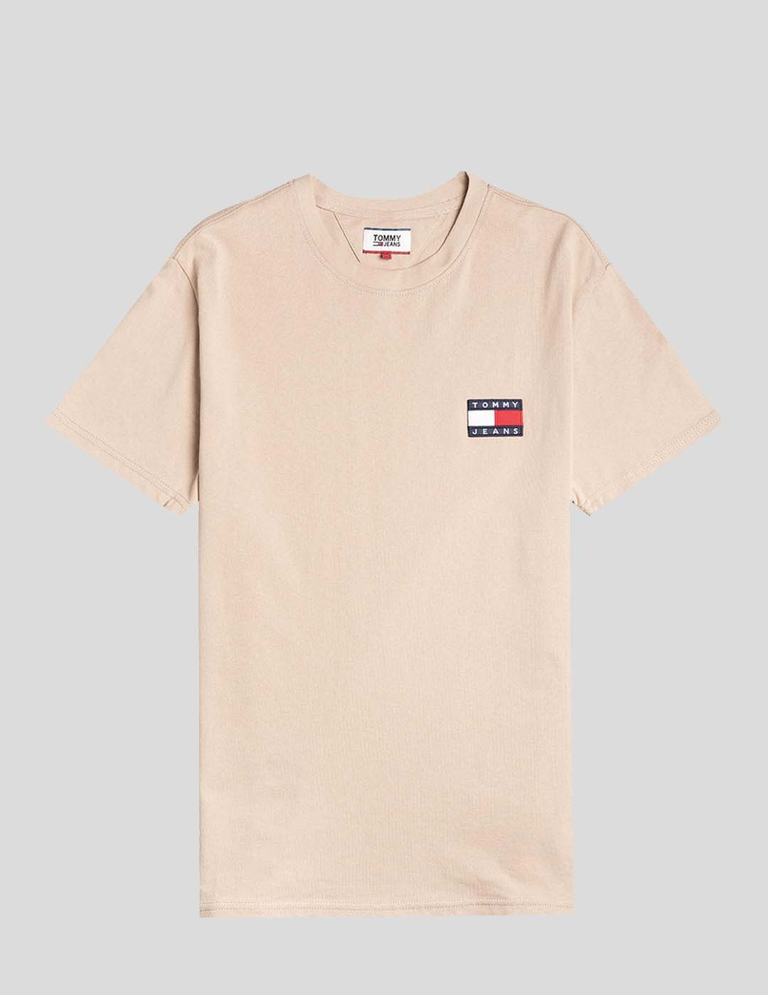 CAMISETA TOMMY JEANS TOMMY BADGE TEE BEIGE