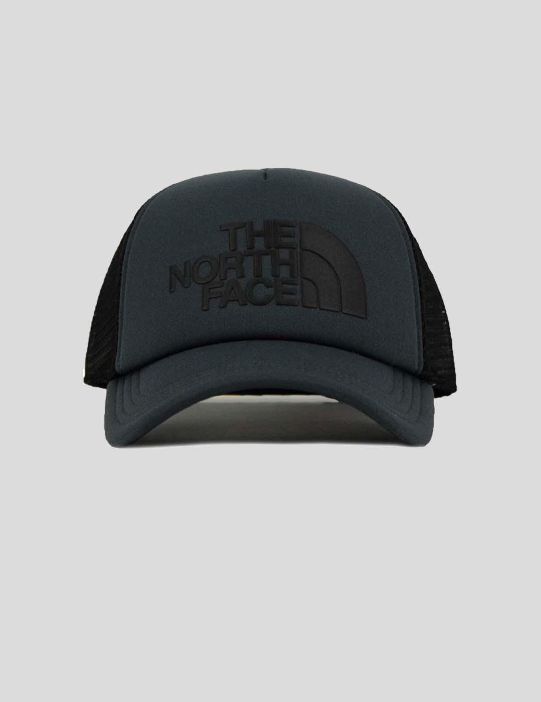 GORRA THE NORTH FACE TFN LOGO TRUCKER CAP ASPHLTGR / TNF BLACK