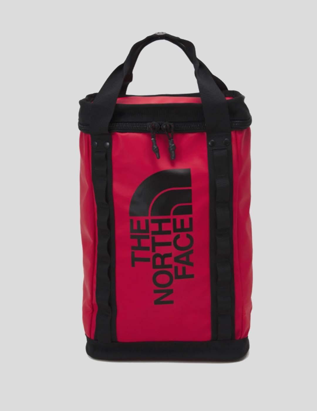 MOCHILA THE NORTH FACE EXPLORE FUSEBOX S TNF RED 7 TNF BLACK