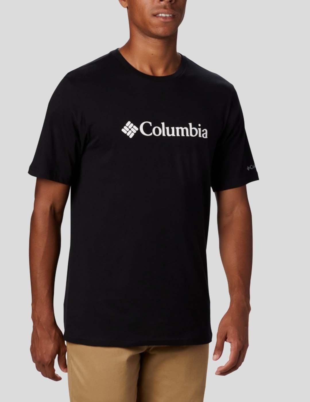 CAMISETA COLUMBIA CSC BASIC LOGO BLACK