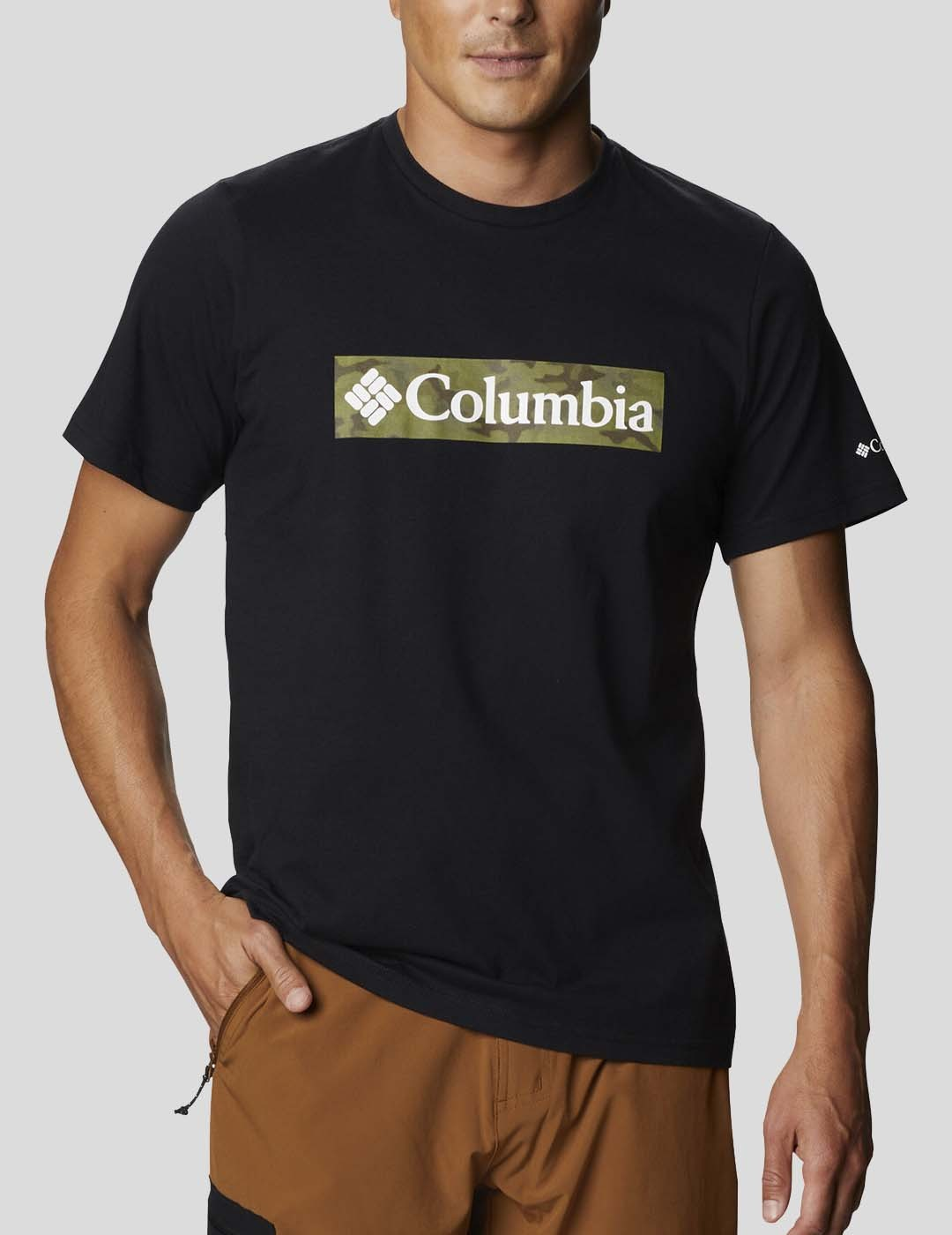 CAMISETA COLUMBIA RAPID RIDGE GRAPHIC TEE BLACK CSC FRAME