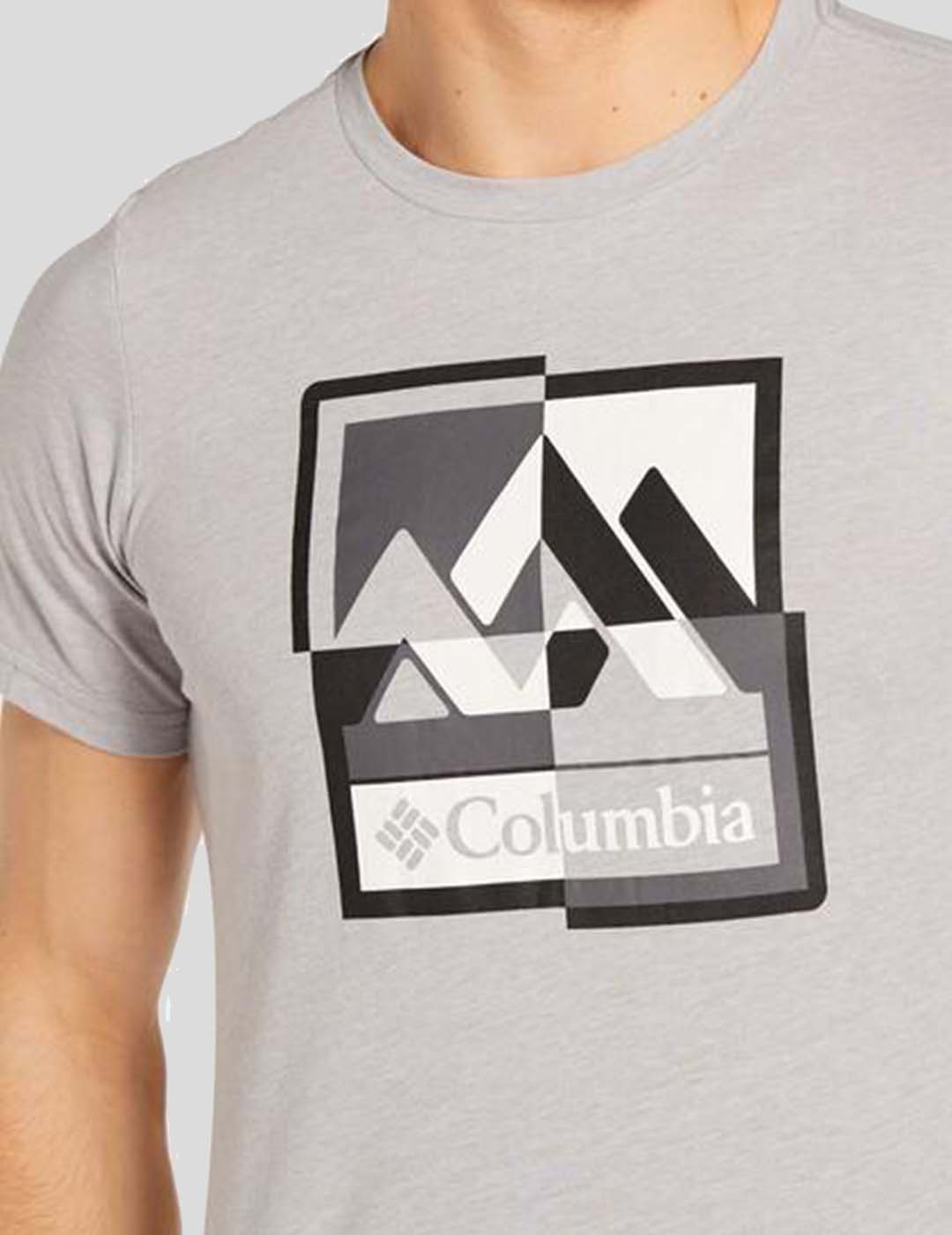 CAMISETA COLUMBIA M ALPINE WAY GRAPHIC TEE COLUMBIA GREY H