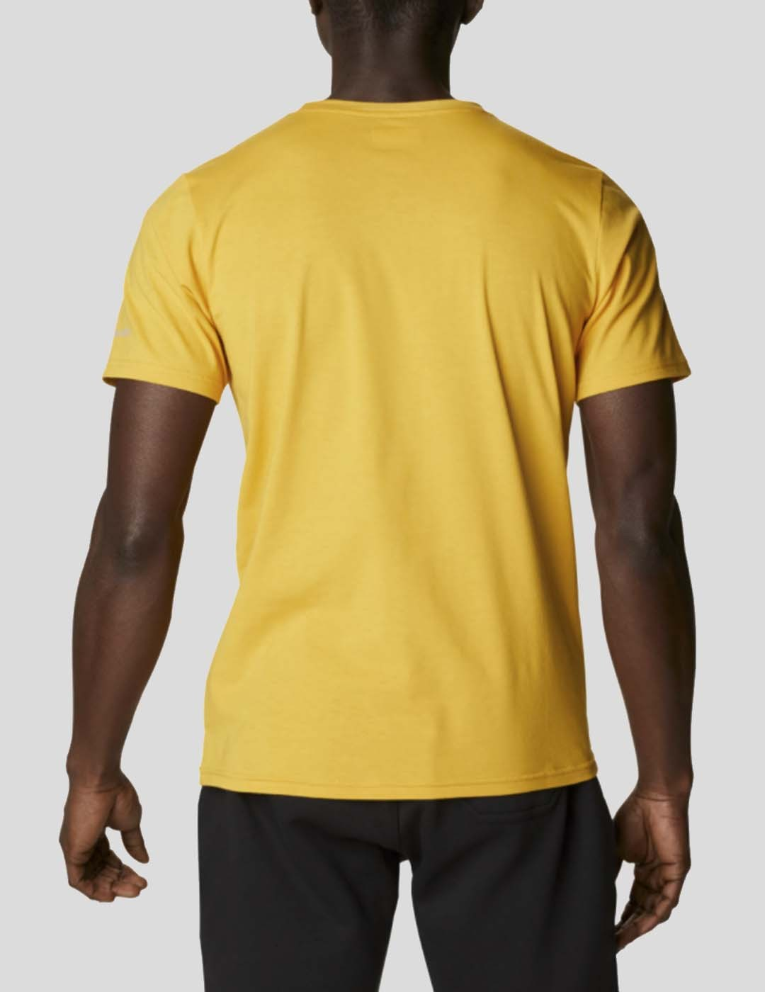 CAMISETA COLUMBIA M SUN TREK SHORT SLEEVE GRAPHIC TEE BRIGHT GOLD CAM