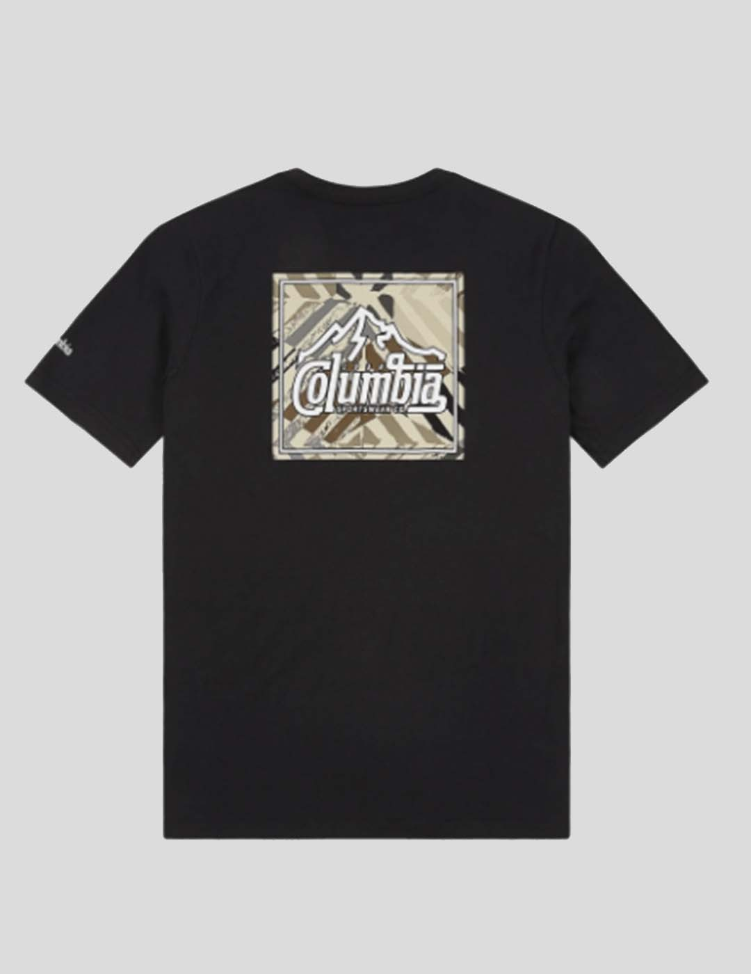 CAMISETA COLUMBIA RAPID RIDGE BACK GRAPHIC TEE BLACK SUMMIT SE