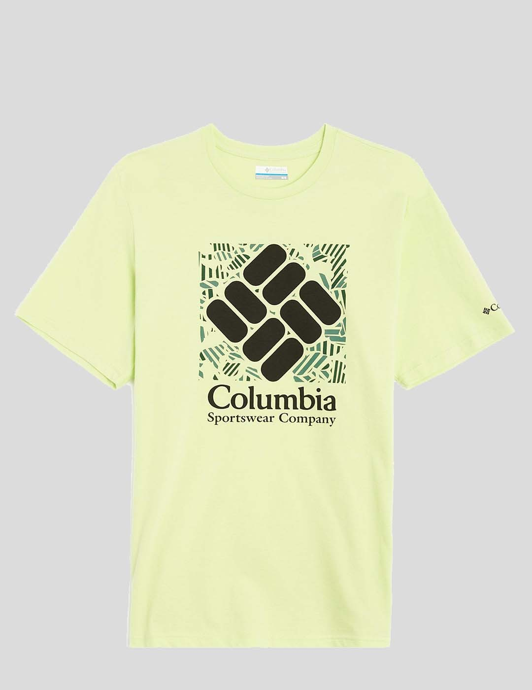 CAMISETA COLUMBIA M RAPID RIDGE GRAPHIC TEE SPRING YELLOW
