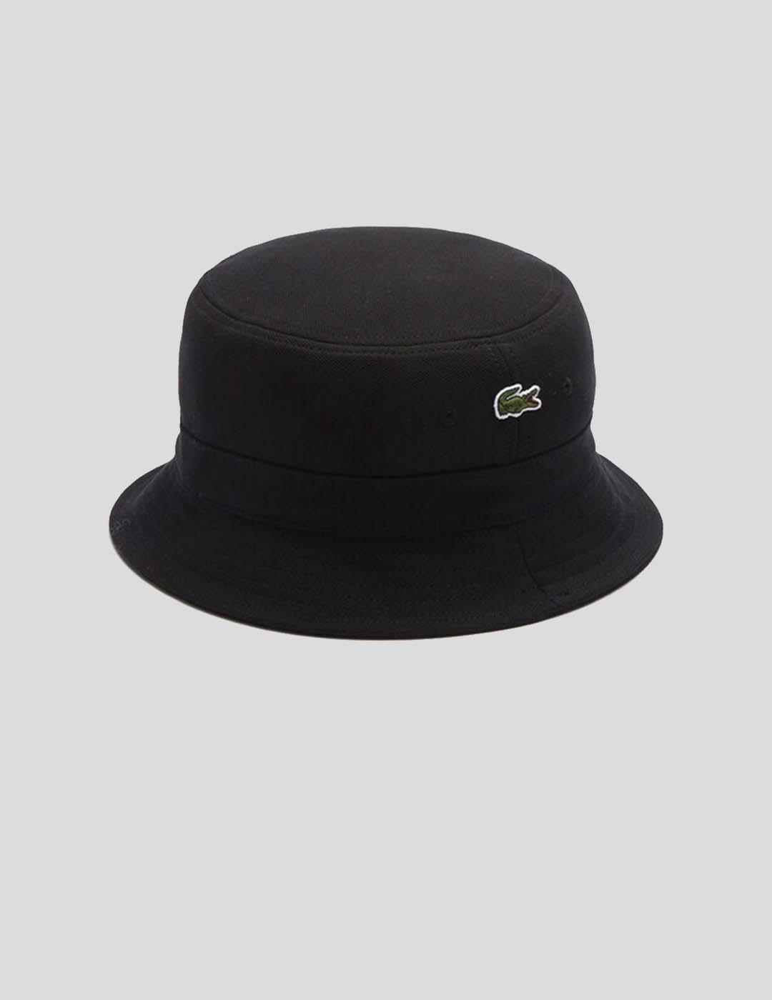 GORRA LACOSTE RK2056 BUCKET HAT BLACK