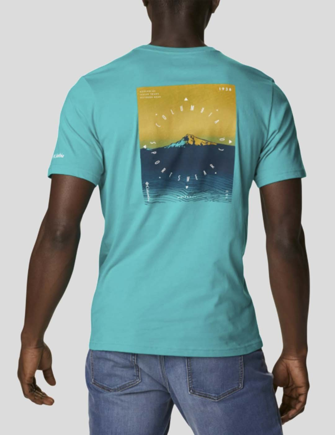 CAMISETA COLUMBIA HIGH DUNE GRAPHIC TEE TROPIC WATER TR