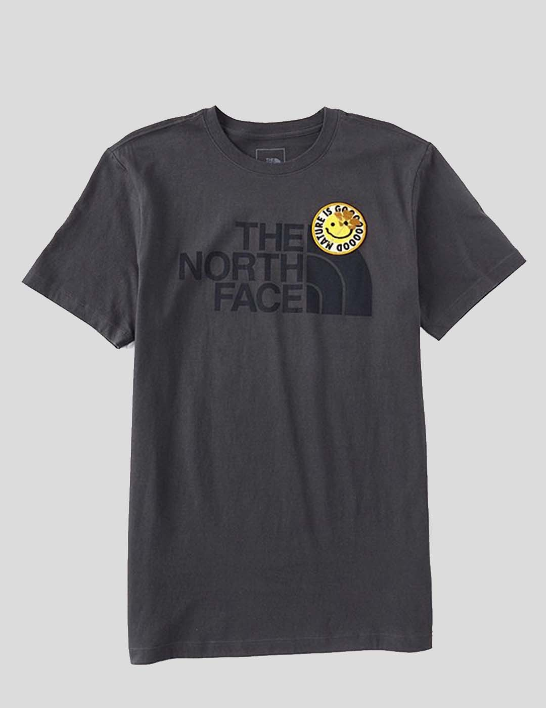 CAMISETA THE NORTH FACE PATCHES TEE ASPHALT GREY